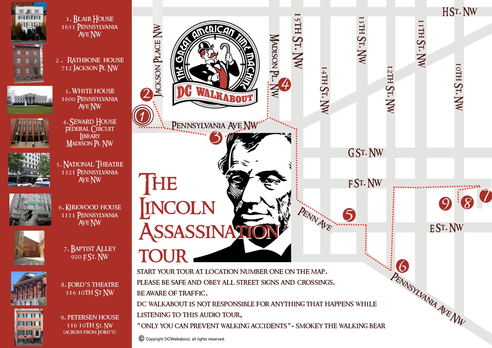 Lincoln Assassination Walking Tour Dc